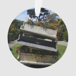 SF botanischer Garten-Blumen-Klavier-Verzierung Ornament