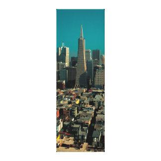 SF Downtown View - Grosser Leinwanddruck