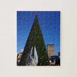 SF Gewerkschafts-Quadrat-Weihnachtsbaum-Puzzle Puzzle