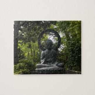 SF japanisches Puzzle Tee-Garten-Buddhas