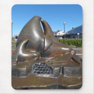 SF Wächter der Tor-Skulptur Mousepad