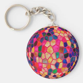 Sg-hellroter glühender Kristallball Schlüsselanhänger