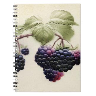 Shab-tastic Vintages BlackBerry-Notizbuch Notiz Buch