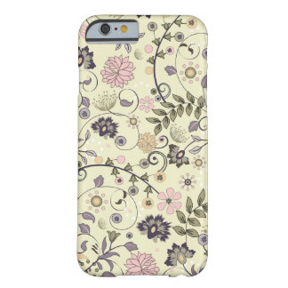 Shabby Chic-Blume Vintag Barely There iPhone 6 Hülle