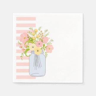 Shabby Chic-Garten-Freude Papierserviette