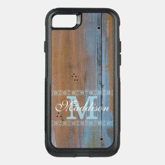 Shabby Chic gemalter hölzerner Monogramm iPhone 7