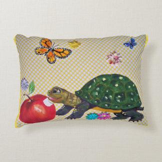 Shabby Chic-Schildkröte-Kissen für Kinderzimmer Dekokissen