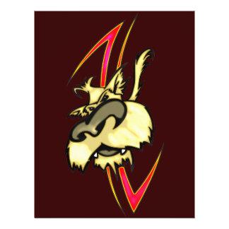 Shaggy Hund 21,6 X 27,9 Cm Flyer