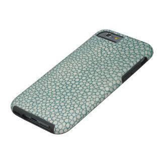 Shagreen Aqua Seafoam Grün Tough iPhone 6 Hülle