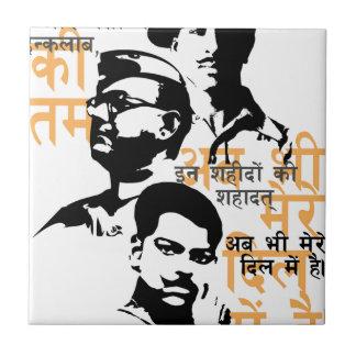 Shaheed die Inder-Märtyrer Keramikfliese