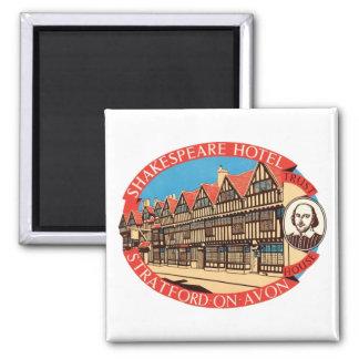 Shakespeare-Hotel, Stratford auf Avon-Gepäck-Aufkl Magnete