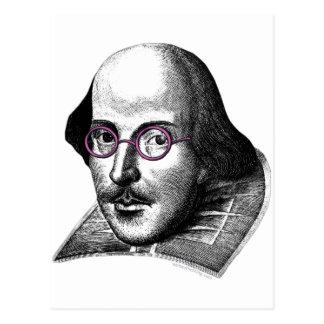 Shakespeare Lennon Postkarte
