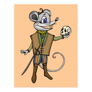 Shakespeare- Maus Postkarten