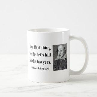 Shakespeare-Zitat 4b Kaffee Tasse