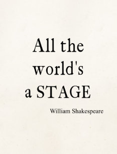 Shakespeare Zitate Postkarten Zazzlede