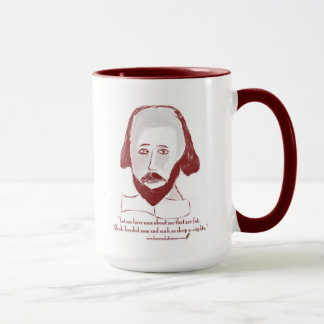 Shakespeare-Zitat-Tasse Tasse