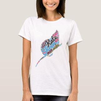 Shakespeares Zähmen der Spitzmaus-Wort-Wolke T-Shirt