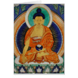 Shakyamuni Grußkarte