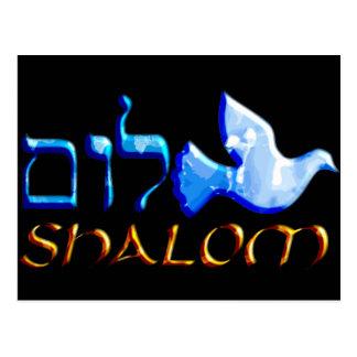 Shalom Dove.png Postkarte