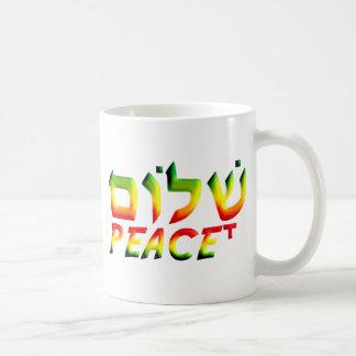Shalom Kaffeetasse
