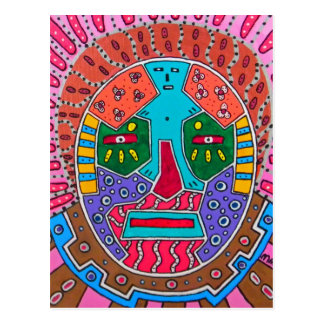Shaman-Maske Postkarte