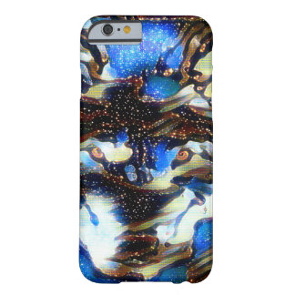 Shaman-Wolf-Geist-Natur-Kunst iPhone 6/6s Fall Barely There iPhone 6 Hülle