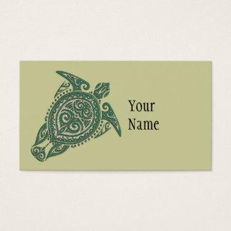 Shamanic Meeresschildkröte-Symbol + Ihre Ideen u. Visitenkarte