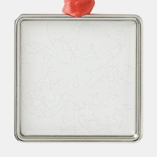 shamrock2 silbernes ornament