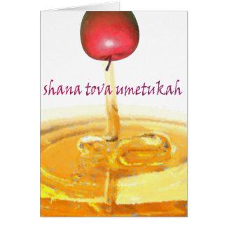 Shana Tova Umetukah Karte