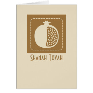 Shanah Tovah Rosh Hashanah jüdisches neues Jahr Karte