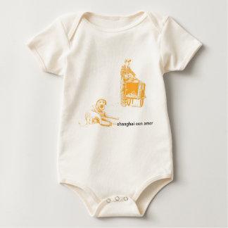 Shanghai ausdrücklich baby strampler