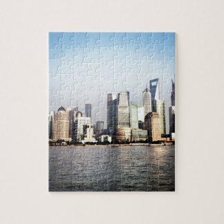 Shanghai-ChinaSkyline Puzzle