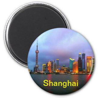 Shanghai-Magneten Kühlschrankmagnet