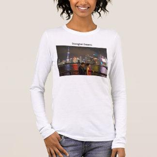 Shanghai-Träume Langarm T-Shirt