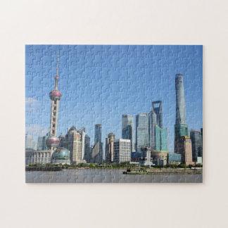 Shanghai vom Promenaden-Puzzlespiel Jigsaw Puzzles