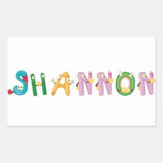 Shannon Aufkleber