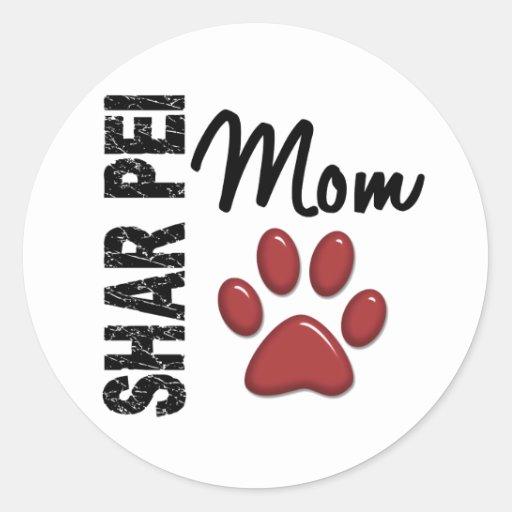 Shar Pei Mamma 2 Sticker