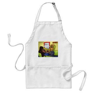 Shar-Pei PlastikOperations-lustige T-Shirts-Tassen Schürze