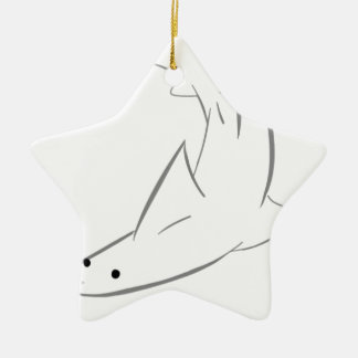 Sharky Freund Keramik Ornament
