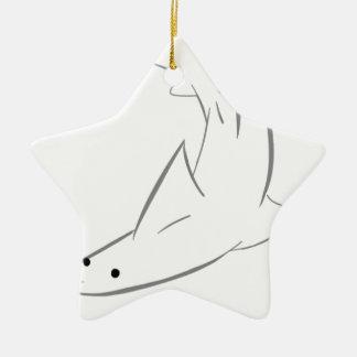 Sharky Freund Keramik Stern-Ornament