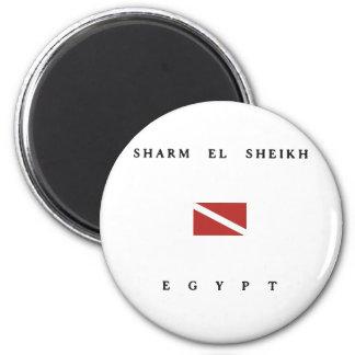 Sharm el runder magnet 5,7 cm