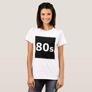 Sharnias ` 80er Schwarz-Entwurfs-' T - Shirt
