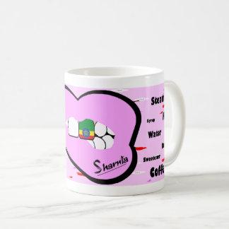 Sharnias Lippenäthiopien-Tasse (LT PINK Lippe) Kaffeetasse