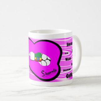 Sharnias Lippenäthiopien-Tasse (ROSA Lippe) Kaffeetasse