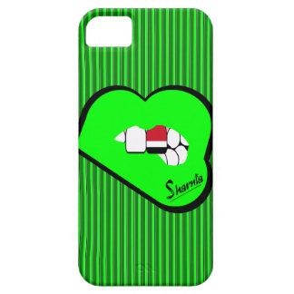 Sharnias Lippender Jemen-Handy-Fall (GR-Lippen) iPhone 5 Etui