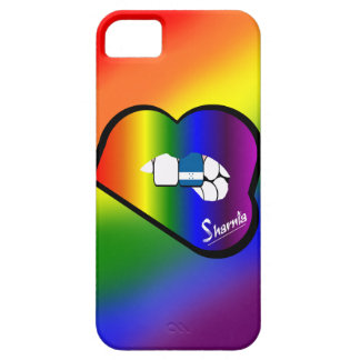 Sharnias Lippenhonduras-Handy-Fall RB Lippen iPhone 5 Etuis