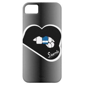 Sharnias Lippenhonduras-Handy-Fall-Schwarz-Lippe Schutzhülle Fürs iPhone 5