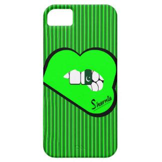 Sharnias Lippenpakistan-Handy-Fall-GR-Lippen iPhone 5 Schutzhülle