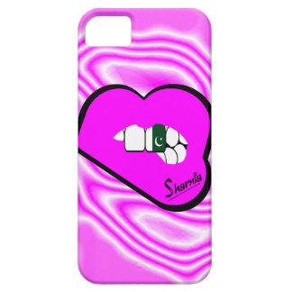 Sharnias Lippenpakistan-Handy-Fall-PK-Lippen iPhone 5 Hüllen