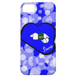 Sharnias Lippensaudi-arabien Handy-Fall blau iPhone 5 Hülle